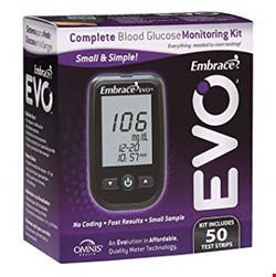 دستگاه تست قند خون EVO همراه با 50 نوار